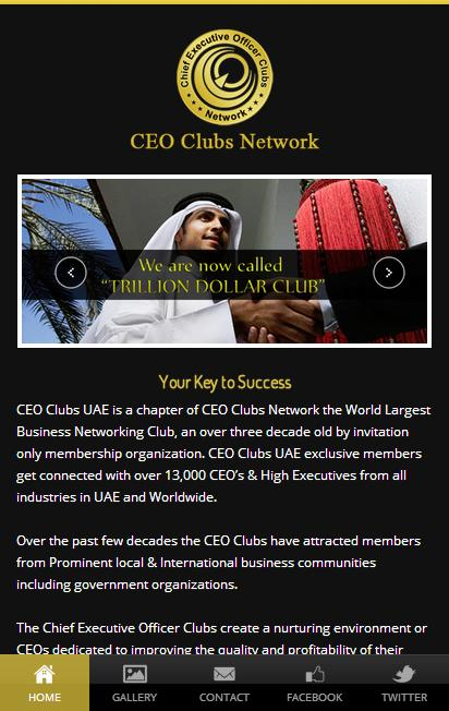 CEO Clubs- screenshot