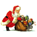 Christmas Santa Claus Sticker icon