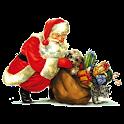 Christmas Santa Claus Sticker