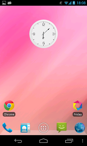 Flyer Clock Skin Write empty