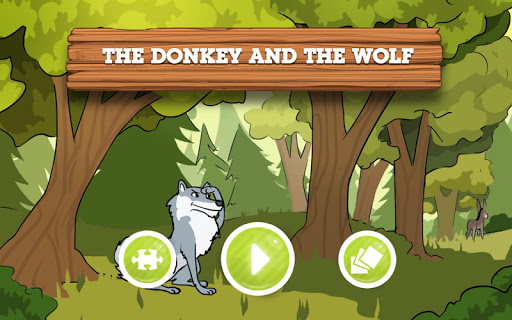 The Donkey and the Wolf