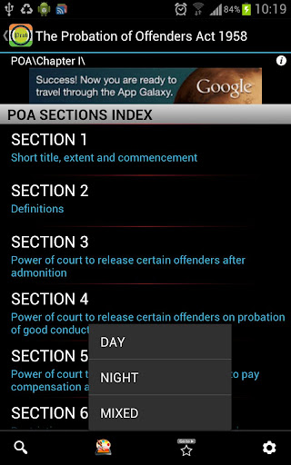 POA-Probation of Offenders Act