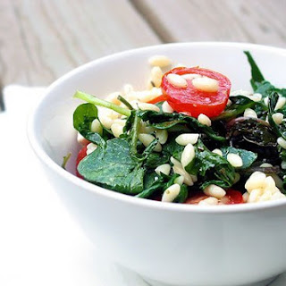Arugula with Orzo and Garden Tomatoes