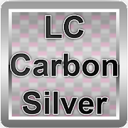 LC Carbon Silver Theme for Nova/Apex