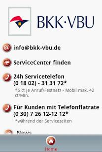BKK VBU Hausmittel App - screenshot thumbnail