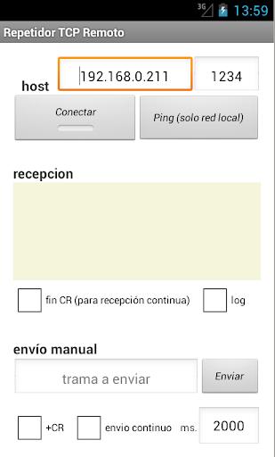 Repetidor TCP Remoto