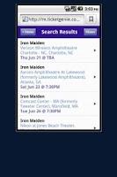 Screenshot of Rod Stewart Tickets