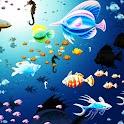 3D fish 7 logo