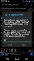 Screenshot of NPR Station Finder