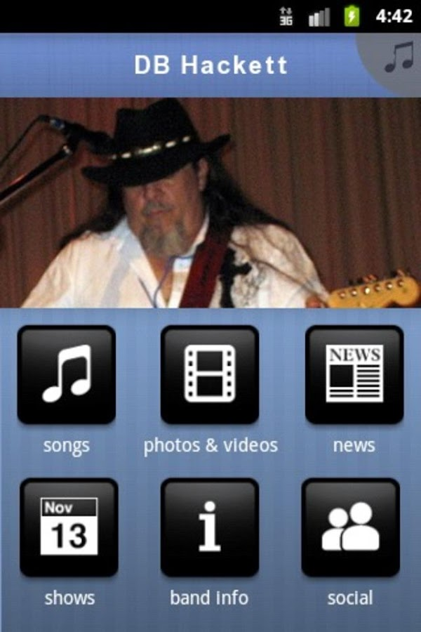 DB Hackett- screenshot