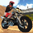 Action Bike Rider Volcano icon