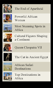 World Travel Lists - AFRICA screenshot 1