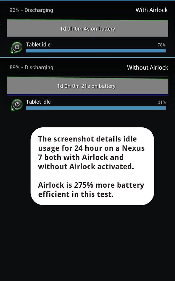 Airlock - Battery Saver- screenshot