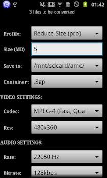 ARMV7 NEON VidCon Codec