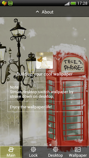 美丽的浪漫雪景动态壁纸屏幕锁