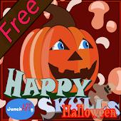 Happy Skulls Halloween