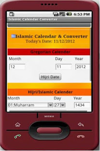 Image result for Convert the date from AD to Hijri