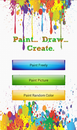 Kids Finger Paint and Coloring