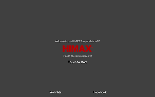 HIMAX BT Torque Meter APP- screenshot thumbnail
