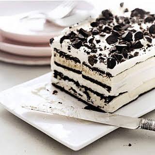 Easy Ice Cream Cake.