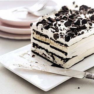 Easy Ice Cream Cake.