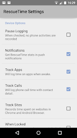 RescueTime Time Management Screenshot 4