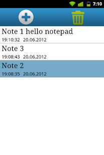 Qnote - simple notepad - screenshot thumbnail