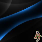 Theme XP Darkness BlueOnBlack