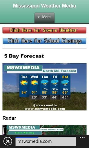 Mississippi Weather Media