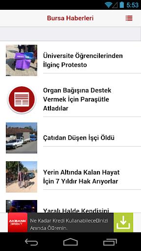 Bursa Haberleri