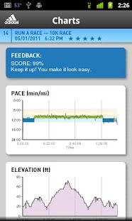 miCoach train & run - screenshot thumbnail