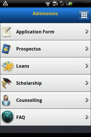 Amity University- screenshot