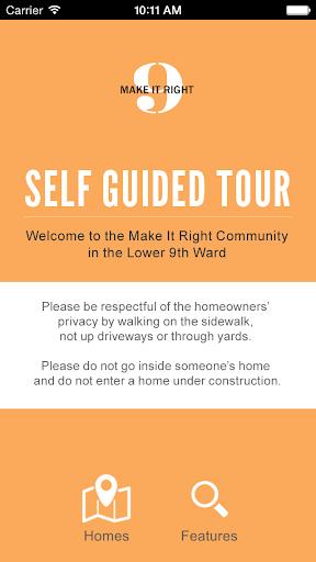 Make It Right - 9th Ward Tour