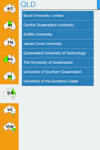 OZUniversities- screenshot thumbnail