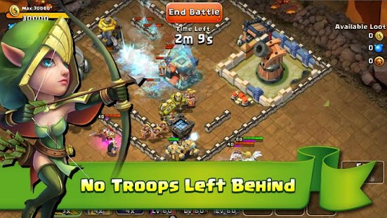 Castle Clash Mod (Unlimited Money) v1.2.17 APK