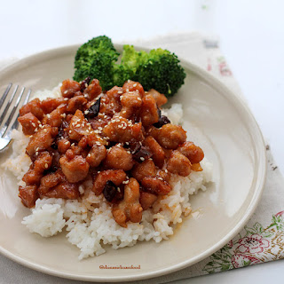 General Tso Chicken.