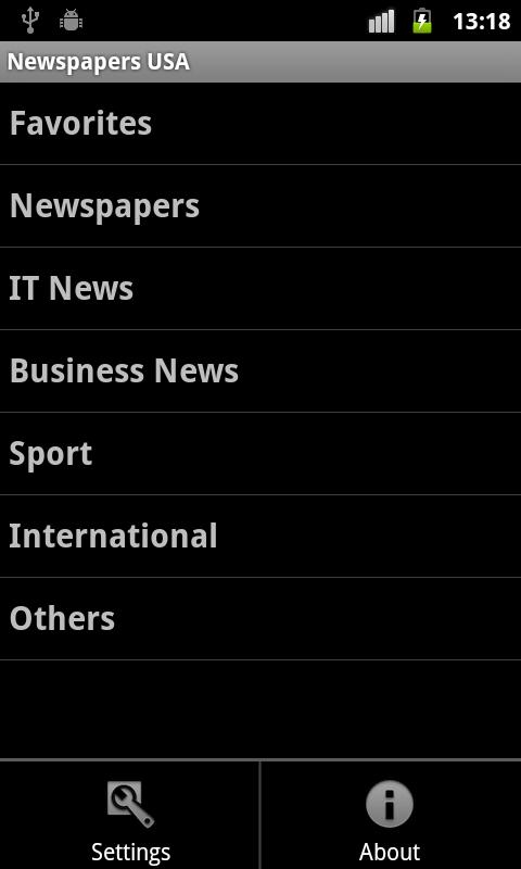 Newspapers USA- screenshot