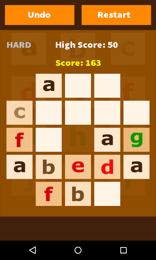 Add Letters Puzzle Game- screenshot