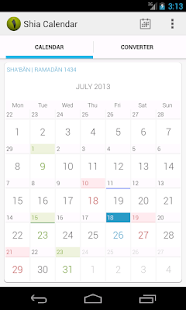 Shia Calendar- screenshot thumbnail
