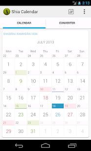 Shia Calendar - screenshot thumbnail