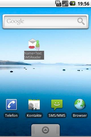 SMS Reader - screenshot
