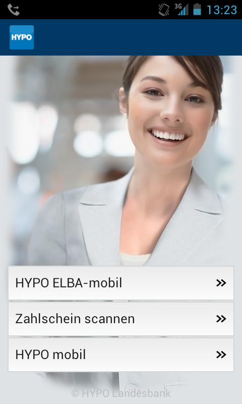 HYPO Landesbank - screenshot