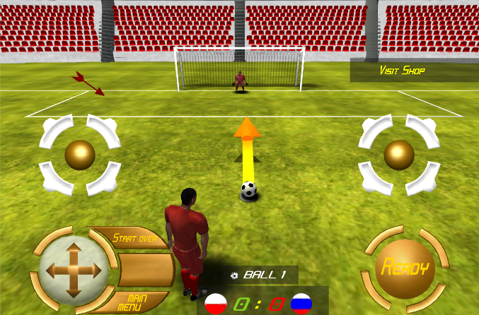Football Champions League 14 - screenshot