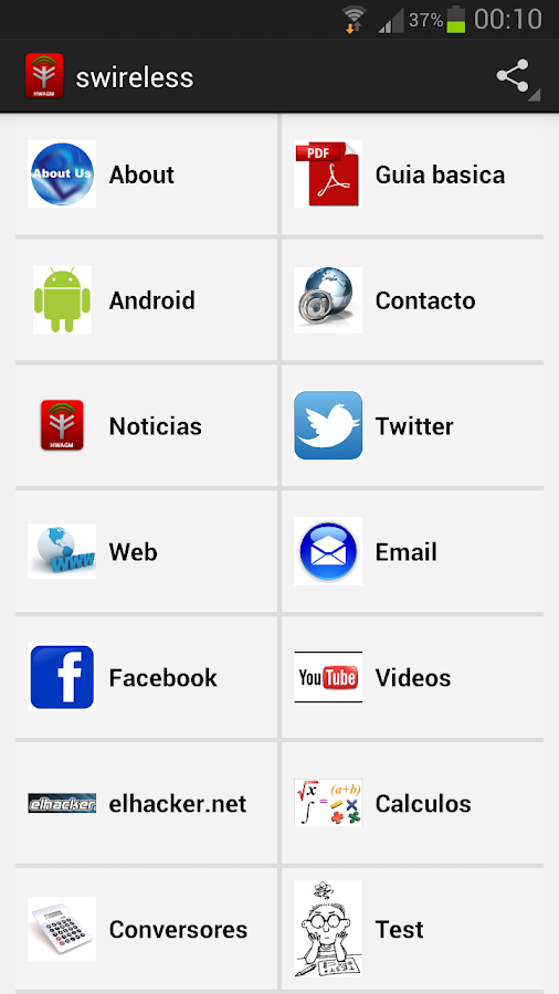 Seguridad wireless- screenshot