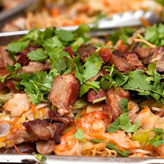 Char Siu & Shrimp Chow Mein