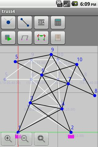 AndTruss2D- screenshot