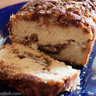 Apple Cinnamon Bread.