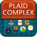 Plaid Complex GoLauncher Theme icon