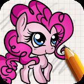 Draw Little Ponies