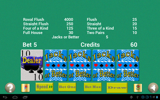 【免費博奕App】TouchPlay Jacks or Better-APP點子